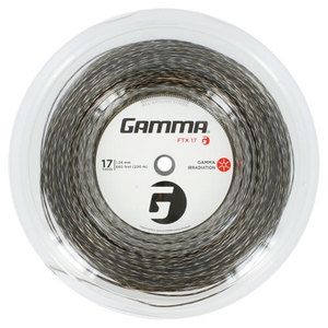 GAMMA FTX 17G TENNIS STRING REEL BLACK
