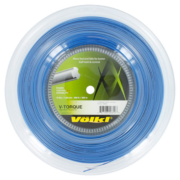 V Torque 16g Tennis String Reel Neon Blue