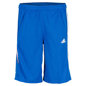 adidas BOYS RESPONSE BERMUDA SHORT BLUE BEAUTY