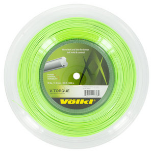 V Torque 18G Tennis String Reel Neon Green