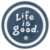 LIFE IS GOOD 4 Inch Coin Sticker