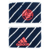 Roland Garros Small Tennis Wristband Navy and White by ADIDAS