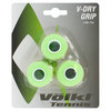 VOLKL V Dry 3 Pack Tennis Overgrip Neon Green