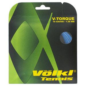 VOLKL V TORQUE 16G TENNIS STRING NEON BLUE
