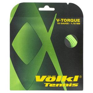 VOLKL V TORQUE 18G TENNIS STRING NEON GREEN