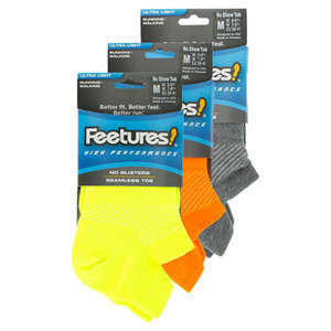 FEETURES HIGH PERFORMANCE ULTRA LIGHT SOCKS