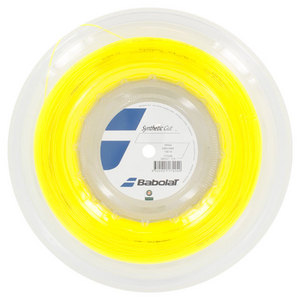 BABOLAT SYNTHETIC GUT 16G STRING REEL YELLOW