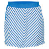 TAIL Women`s Break Point Susette Tennis Skort Delphinium Blue Stripe