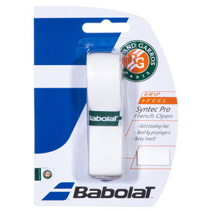 BABOLAT SYNTEC PRO FRENCH OPEN REPLACE  GRIP WH