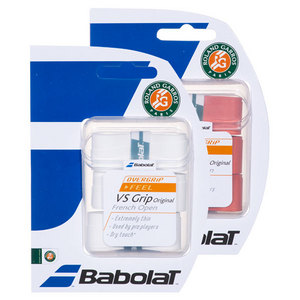 BABOLAT VS GRIP ORIG FRENCH OPEN OVERGRIPS 3 PK