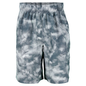 UNDER ARMOUR MENS MIRAGE PRINT SHORT WIRE/WHITE