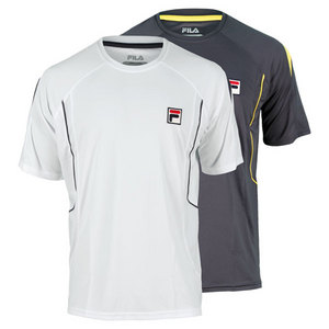 FILA MENS TOUR SHORT SLEEVE TENNIS CREW