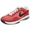 NIKE Unisex Air Max Cage Team Tennis Shoes Maroon/White
