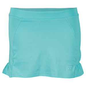 FILA GIRLS RUFFLED TENNIS SKORT GREEN