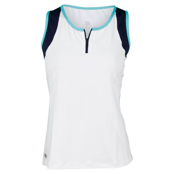 Women's Rip Tide Everitt Tennis Tank White