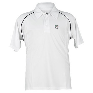 FILA BOYS GAME TENNIS POLO WHITE/PEACOAT