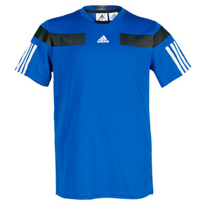 adidas BOYS ADIPOWER BARRICADE TEE BLUE BEAUTY