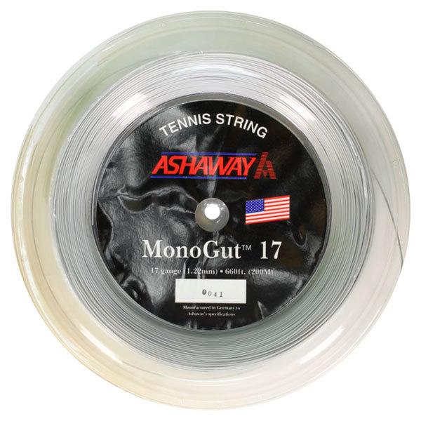 Monogut 17g 660 Foot Tennis String Reel Silver