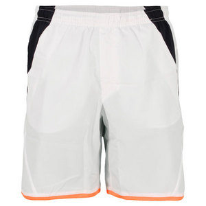 LOTTO MENS MATRIX TENNIS SHORT WHITE/DEEP NAVY