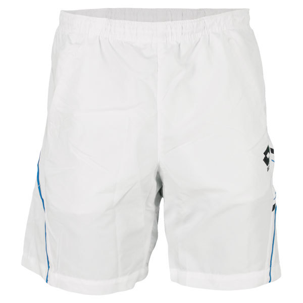 Men's Led Tennis Short White/Blue Moon