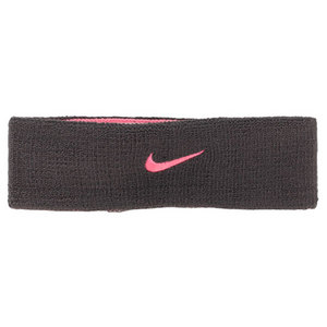 NIKE PREM HOME AND AWAY HEADBAND ANTH/PINK