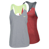 NIKE Women`s Dri Fit Vapor Touch Tennis Tank