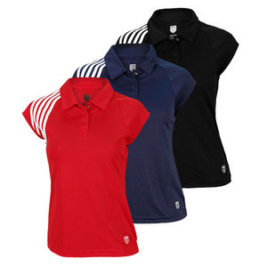 K-SWISS WOMENS ACCOMPLISH TENNIS POLO