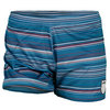 K-SWISS Women`s Shortie Tennis Short Mosaic Textile Stripe