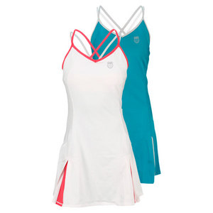 K-SWISS WOMENS CURVY SPLICED TENNIS DRESS