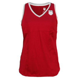 K-SWISS WOMENS V PANEL TENNIS TANK BEET RD