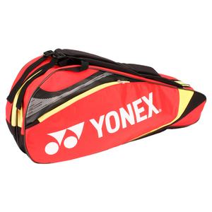 Tournament Six Pack Tennis Bag Red