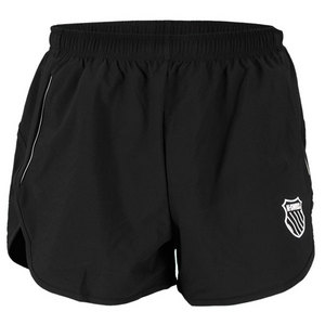 K-SWISS MENS RACE SPLIT TENNIS SHORT BLACK