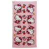 HELLO KITTY 30 Inch X 60 Inch Print Tennis Towel
