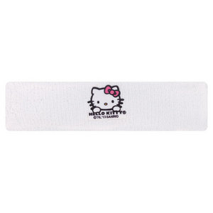 HELLO KITTY TENNIS SWEATBAND WHITE