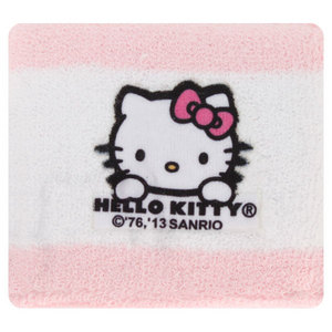 HELLO KITTY TENNIS WRISTBANDS PINK/WHITE