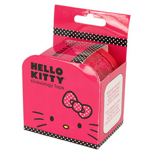 HELLO KITTY TENNIS KINESIOLOGY TAPE PINK PATTERN