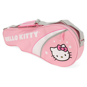 HELLO KITTY THREE PACK TENNIS BAG PINK