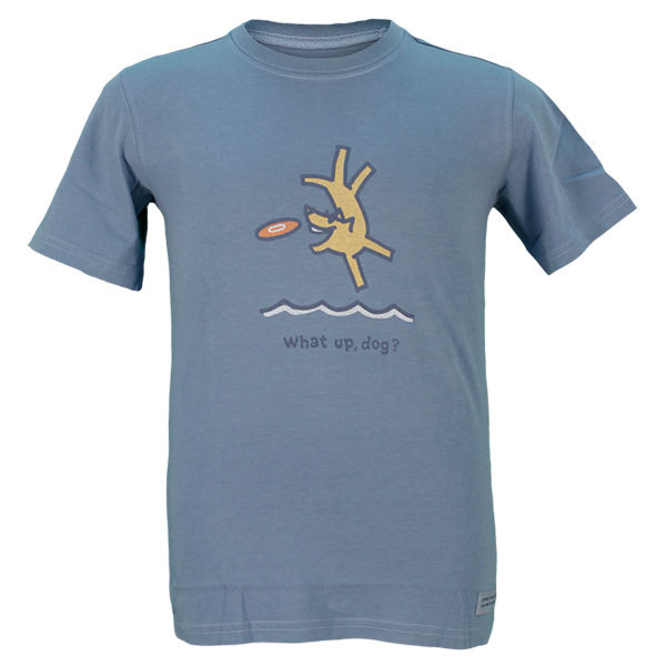 Boy's Flying What Up Crusher Tee Shadow