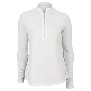 JOFIT WOMENS MONTEGO JO WIND SHIRT WHITE