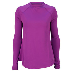 JOFIT WOMENS MONTEGO LONG SLEEVE TOP VIOLET