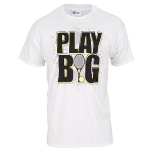 TENNIS EXPRESS PLAY BIG TENNIS UNISEX TEE