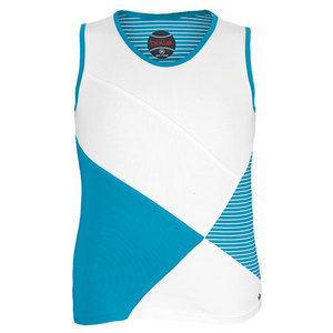 BOLLE GIRLS FOREVER YOUNG TENNIS TANK AQUA