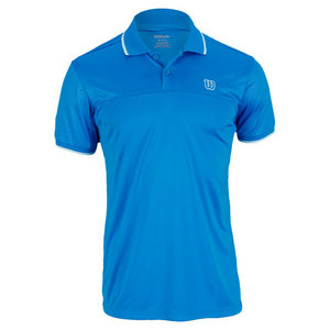 WILSON MENS CLAIM VICTORY TENNIS POLO POOL