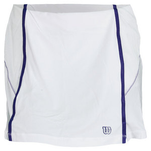 WILSON WOMENS BALL BUSTER TENNIS SKORT WHITE