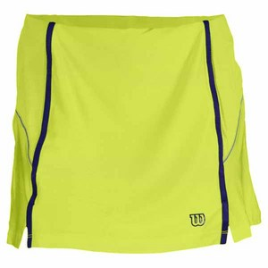 WILSON WOMENS BALL BUSTER TENNIS SKORT GRN/INK