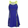 WILSON Women`s Ball Buster Tennis Dress Ink/Cyber Green
