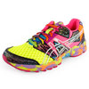 Women`s Gel Noosa Tri 8 Running Shoes Flash Yellow/Multi by ASICS