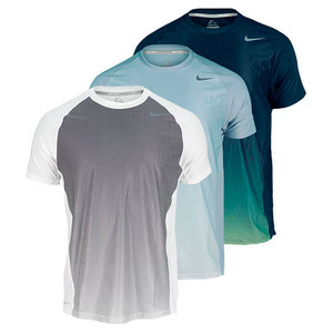 NIKE MENS ADVANTAGE UV GRAPHIC TENNIS CREW