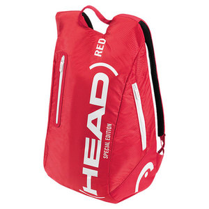 HEAD LIMITED EDITION TENNIS BACKPACK RED