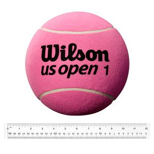 9 Inch Jumbo Pink Tennis Ball Deflated